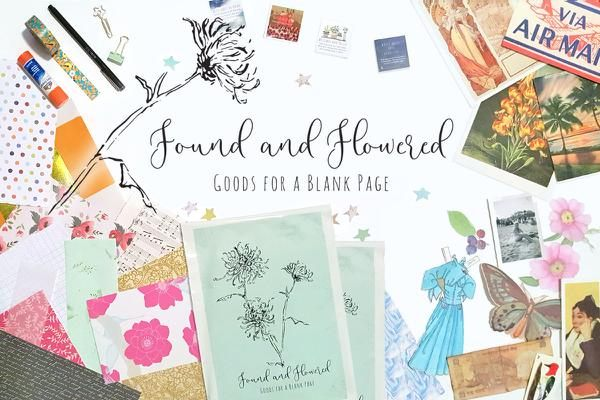 found and flowered subscription box