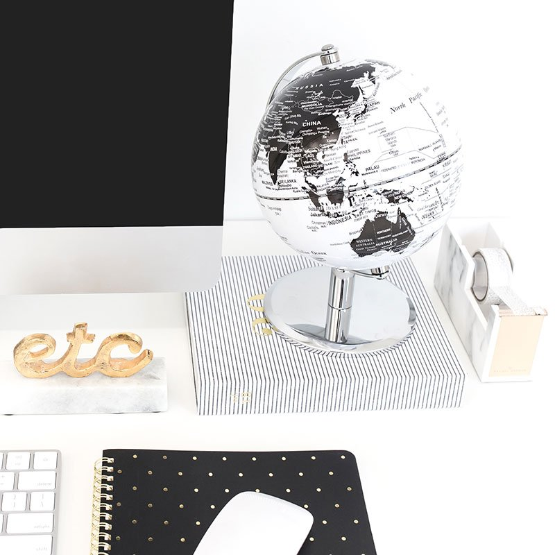 globe desk