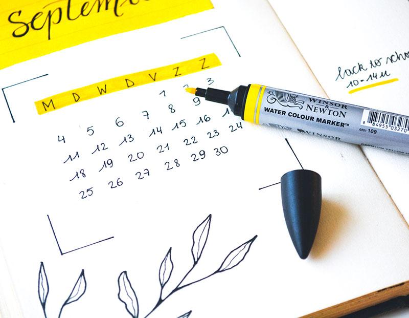 pen bullet journal