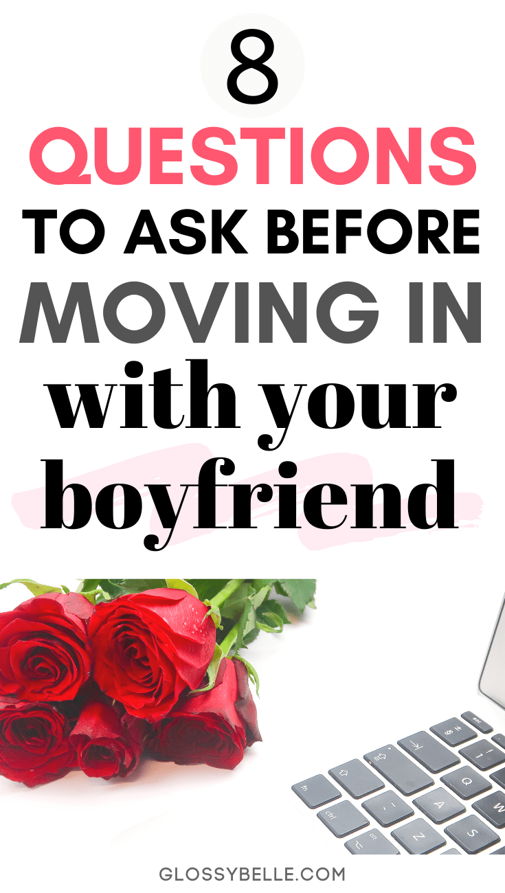 "Have you ever asked yourself the question of, ""Should I move in with my boyfriend?"" If you feel like you're at that next step in your relationship and you're ready to see if cohabiting is a good idea, here are 8 questions you need to ask yourself that will help you figure out if this move is right for you. 