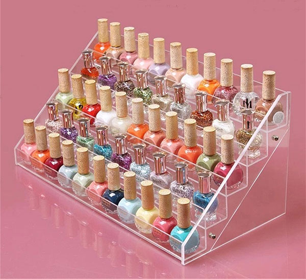Sooyee 5 Layer Nail Polish Display Rack
