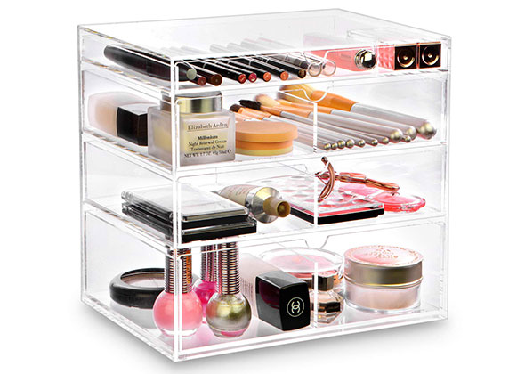 ikee design acrylic cosmetics case