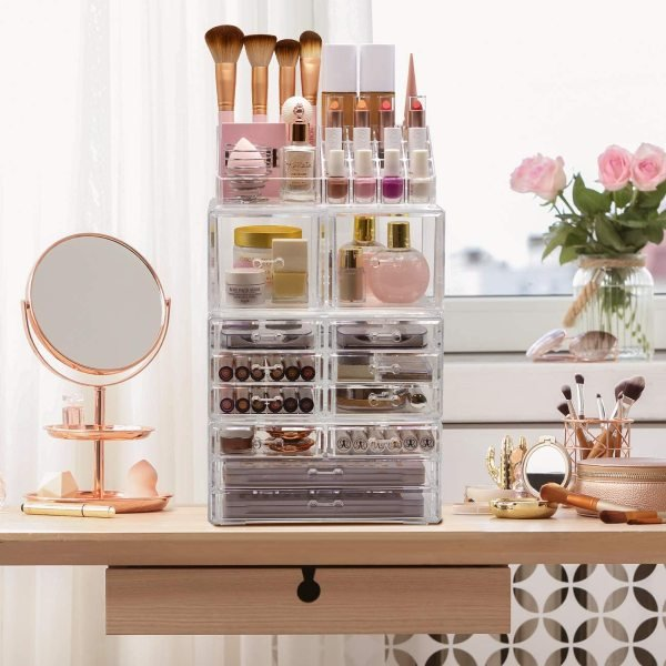 sorbus makeup and cosmetic storage tower