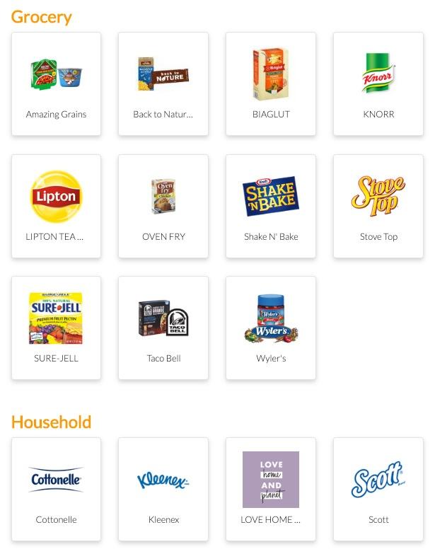 brands on fetch rewards