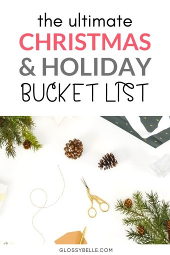 If you're looking to create new family Christmas traditions, here are 40 fun holiday activities to add to your winter bucket list this month.  These are the perfect holiday activities for adults and kids alike! | Christmas activities for families | Christmas activities at home | Christmas activities for adults | Christmas activities for kids | winter bucket list | fun Christmas activities | holiday bucket list | fun Christmas ideas | holiday fun | Christmas bucket list