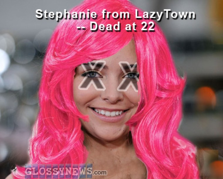 For lazytown prostitution from arrested girl