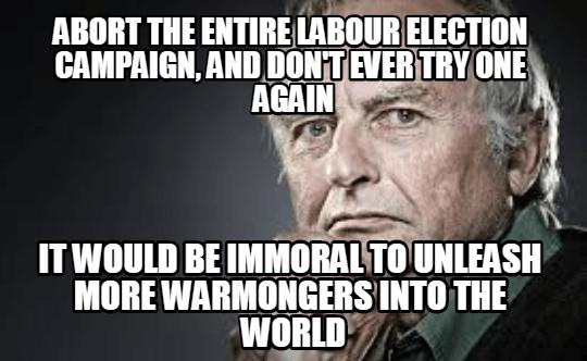 richard dawkins warning