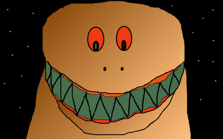 T-Rex Naughty Dinosaur