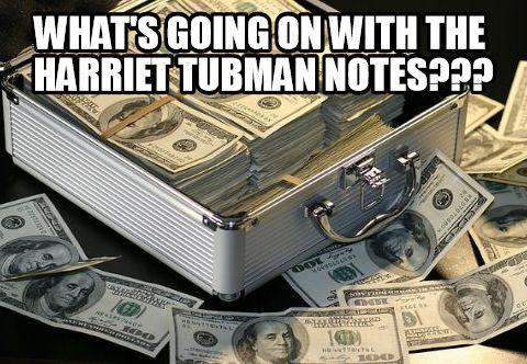Harriet Tubman note
