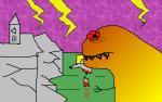 Kings of the Tyrant Lizards? T-Rex Takes on Tremendous Tory Tripwire Tantrumistas!
