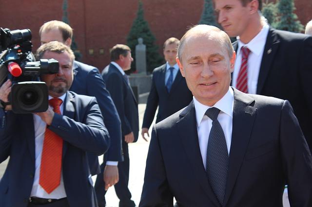 Creepy Vladimir Putin