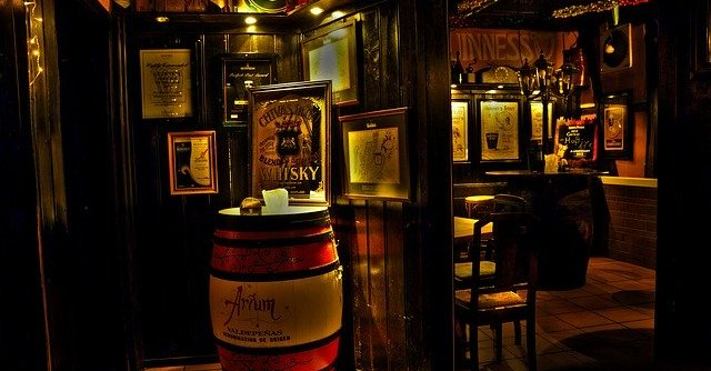 Irish pub Guiness