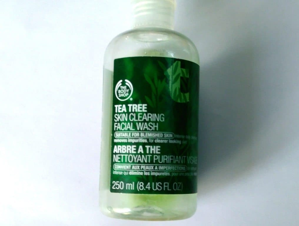 the Body Shop Tea Tree Skin Clearing Facial Wash , bodyshop tea tree face wash