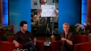 Adam Levine Interview Nov 12 2012