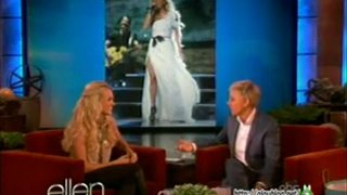 Carrie Underwood Interview And Game May 09 2012