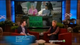 Chris Colfer Interview Jan 21 2013