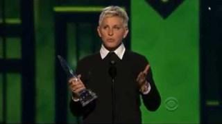Ellen at the PCA 2013