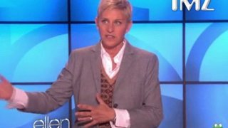 Ellen DeGeneres Thanks TMZ For Caring About My Heart