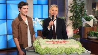 Ellen Gets Her Birthday Cake Jan 30 2014