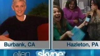 Ellen Surprises 2 Home Viewers At Their Jobs Sept 21 2012