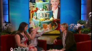 Ellen's Boyfriend Tayt Oct 22 2013
