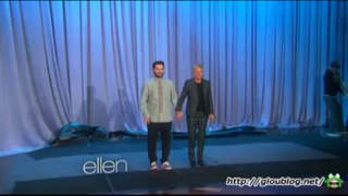 Ellen's Ice Bucket Challenge Sept 08 2014