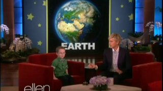 Five-Year-Old Planet Expert Marshall Kimber Is Back Nov 25 2013