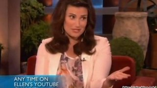 Idina Menzel Interview Mar 05 2012