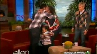 Lisa Jarmon Gets The Biggest Surprise In Ellen History Feb 21 2012