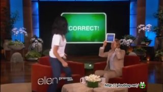 Olivia Munn Plays 'Heads Up!' Sep 10 2013