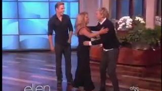 Shawn Johnson and Derek Hough Performance Oct 05 2012