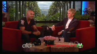 Shemar Moore Interview And Game Jan 23 2012