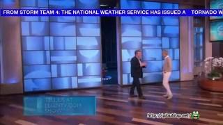 Steve Spangler Makes Ellen Float Feb 21 2014