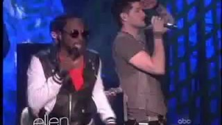 The Script And Will.I.am Performance Oct 15 2012