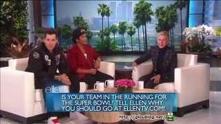 Mark Ronson & Bruno Mars Interview Jan 13 2015