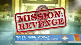 Matt Lauer Gets The Ultimate Revenge On Ellen