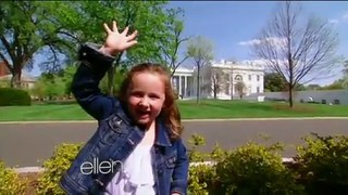Macey Goes To The White House Apr 28 2015
