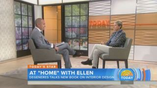 Today Show Ellen Degeneres Interview With Matt Lauer Oct 27 2015
