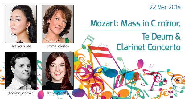 Mozart: Mass in C minor, Te Deum & Clarinet Concerto