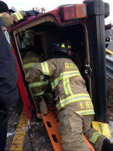 Gloucester Fire Department Responds to Motor Vehicle Crash