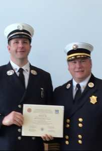 Gloucester Fire Captain Graduates from Management Training Program
