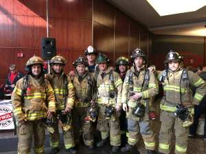 Photo: Gloucester Firefighters Participate in Successful Fight for Air Climb