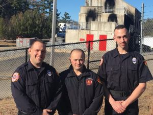 Three Gloucester Firefighters Graduate From Firefighting Academy