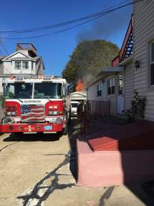 Photos: Gloucester Fire Department Extinguishes Garage Fire