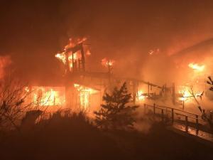 Video: Gloucester Fire Department Battles 2-Alarm Building Fire