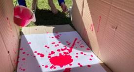 pendulum painting, pendulum painting kids