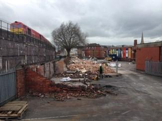 Demolition almost complete
