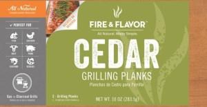 Cedar Planks