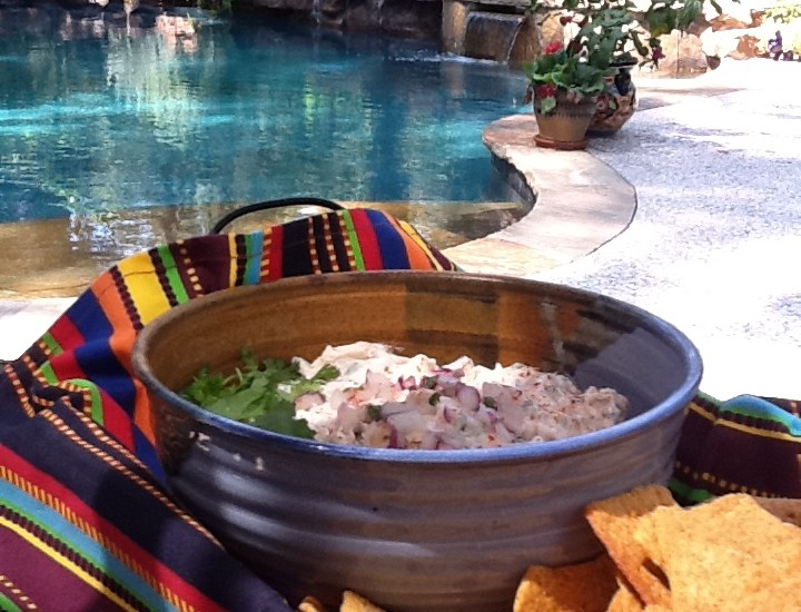 Fiesta Grilled Shrimp Dip