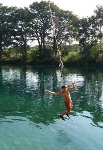Rio Frio Rope Swing - Nick
